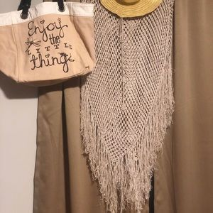Beach Cover Up Hat & Bag